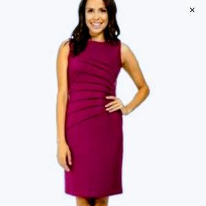 Fuchsia Ivanka Trump Sheath Dress